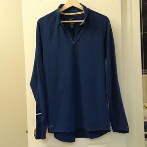 Nike Livestrong pullover jacket Size L